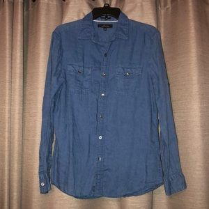 Blue Marc Anthony Button-Down